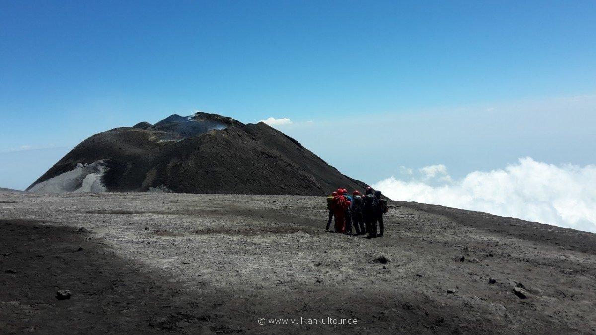 Ätna - mit Blick auf die neuen Südostkrater