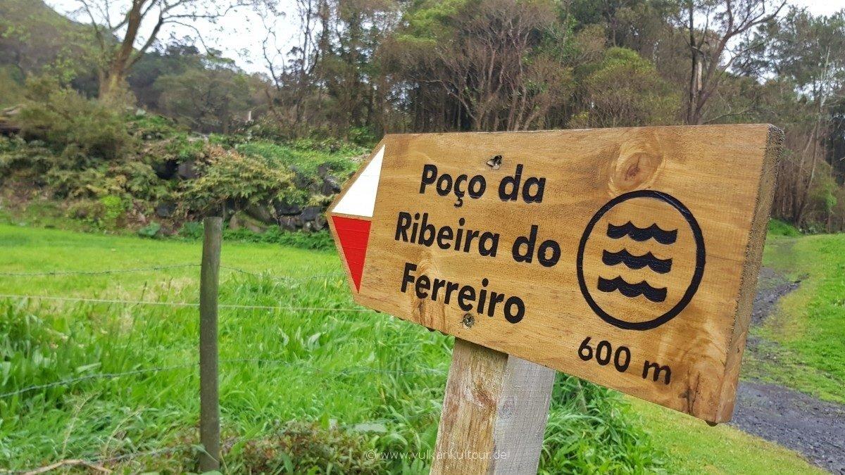 Tolle kurze (uns rutschoge) Wanderung auf Flores