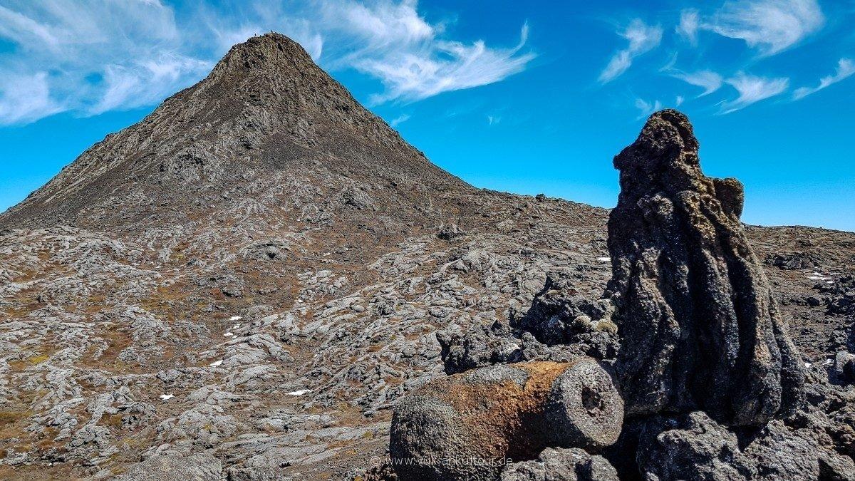 Piquinho - anstrengende letzte 70 Höhenmeter zum Gipfel (2351 Meter)