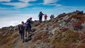 Abstieg vom Pico