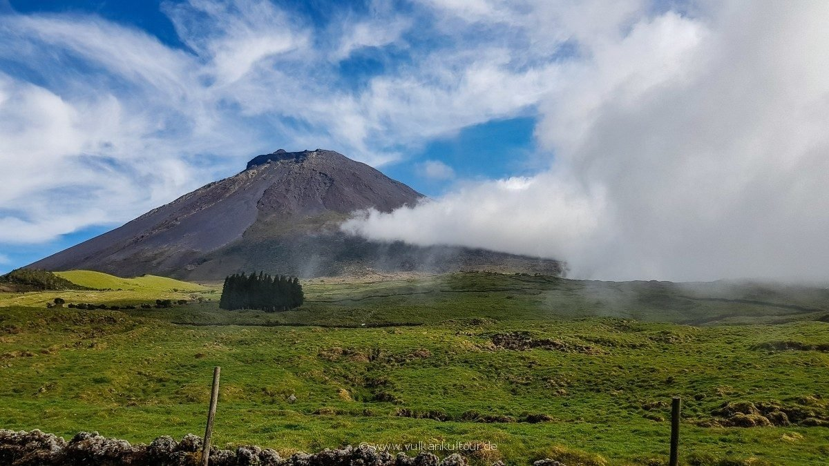 Pico, höchster Berg Portugals