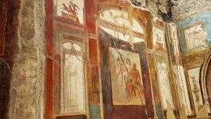 Herkulaneum - schöne Wandmalereien
