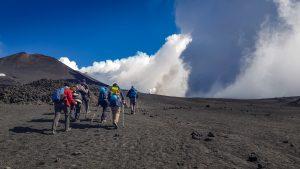Ätna - Wanderung zur Eruptionsspalte