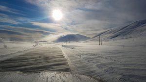 Auf dem Weg zum Goðafoss