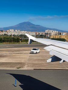 Ankunft in Catania