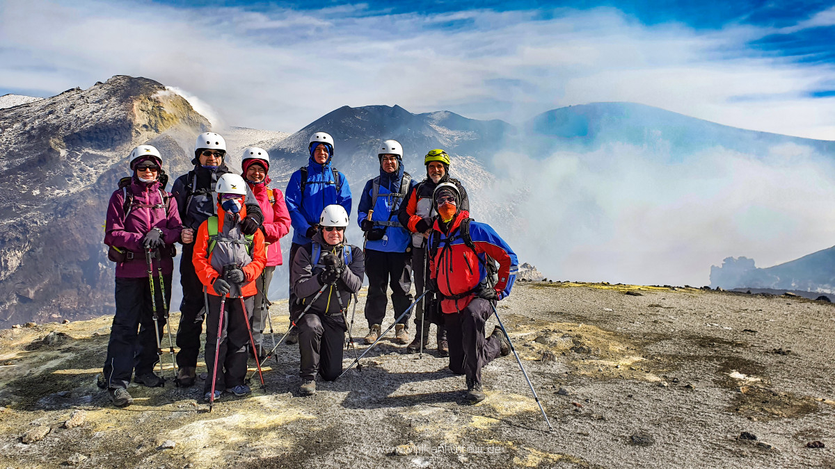 (Fast) alle oben auf 3300 Metern!