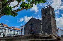 Die Igreja de São Miguel Arcanjo in Vala Franca do Campo (ältestes Gebäude der Insel?)