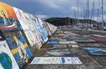 Horta - im Seglerhafen