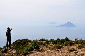 Salina - auf dem höchsten Gipfel des Archipels (Monte Fossa delle Felci, 962 m)