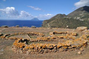 Filicudi - Bronzezeitliches Dorf auf dem Capo Graziano