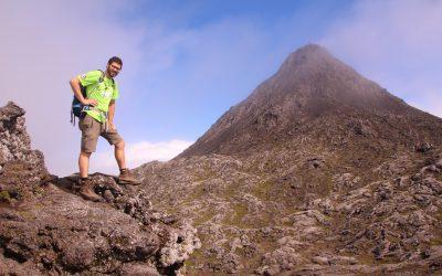 Fabi auf dem Pico (Azoren)