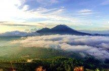 Blick auf den Gunung Batur