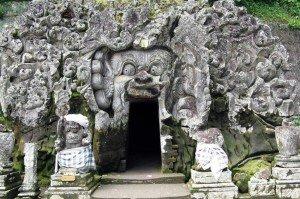 Eingang von Goa Gajah