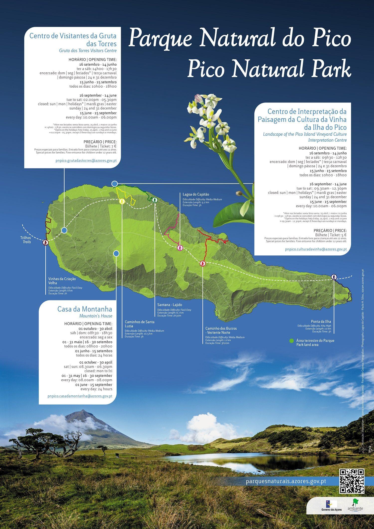 Pico / Azoren (für höhere Auflösung klicken)