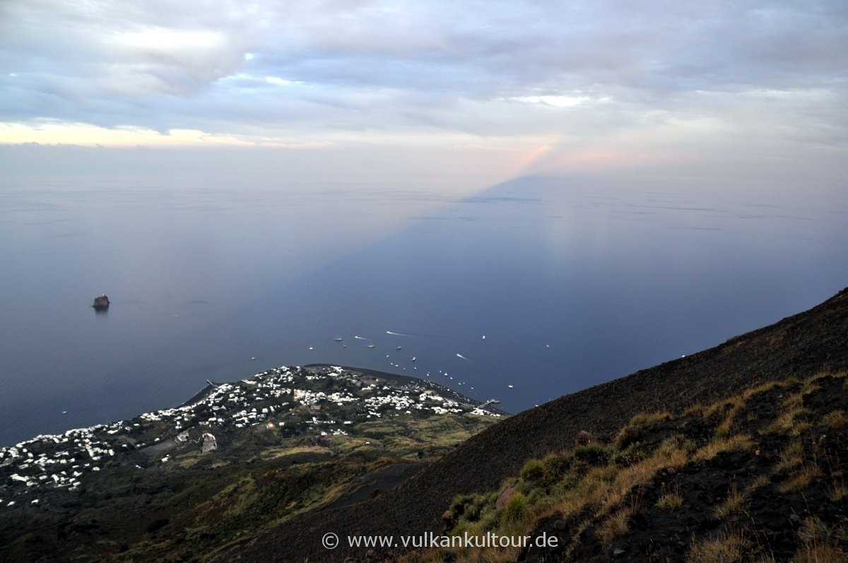 Stromboli - Schatten des Vulkans