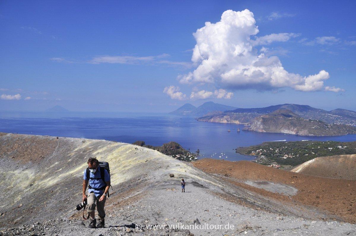 Vulcano - Rundwanderung um den Gran Cratere