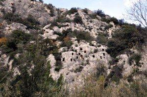 Pantálica - bronzezeitliche Grabhöhlen