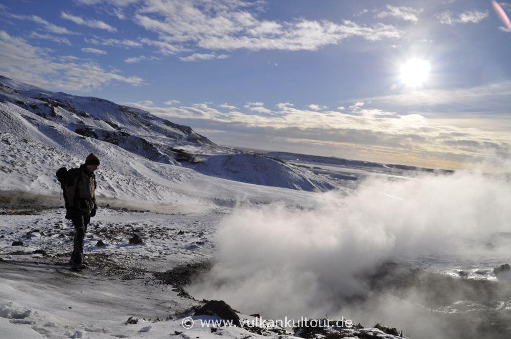 Heiße Quellen bei Hveragerði
