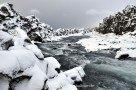 Öxará-Fluss im Þingvellir