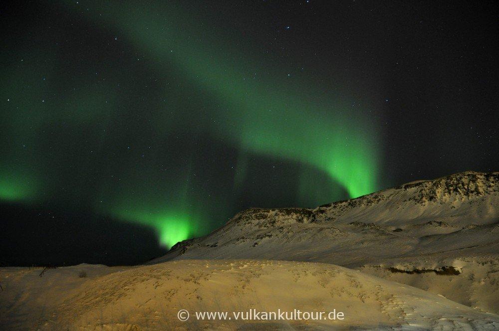 Polarlichter über Hveragerði