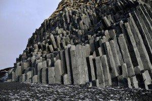 Basalsäulen am Reynisfjara