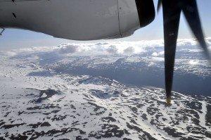 Über verschneite Hochebenen in die Westfjorde