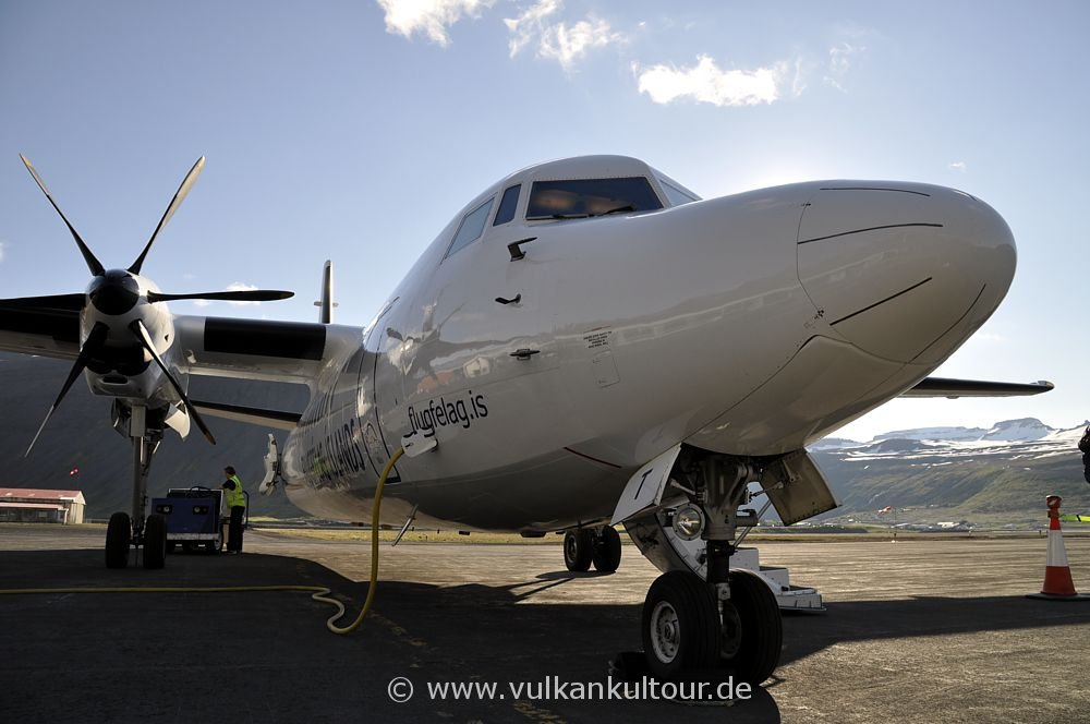 Mit Air Iceland in die Westfjorde