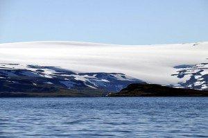 Blick auf den Drangajökull