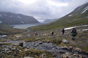Abstieg in den Veiðileysufjörður