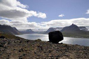 Blick in den Álftafjörður