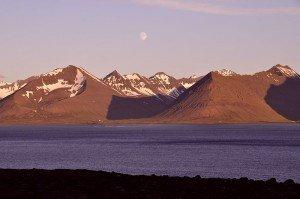 Abendstimmung über dem Dýrafjörður