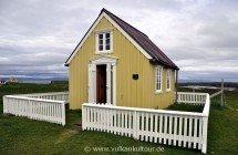 Islands kleinste Bücherei (auf Flatey)