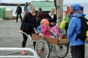 Kinderwagen, Marke Island