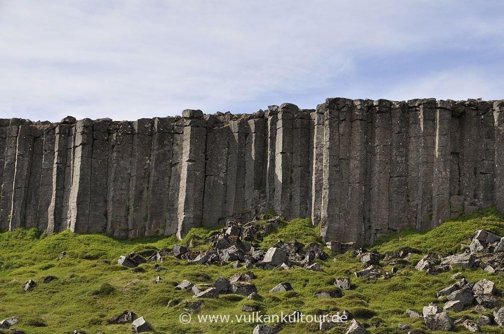 Basaltsäulenwand Gerðuberg