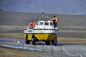 Amphibienboot für die Gletscherlagune Jökulsárlón