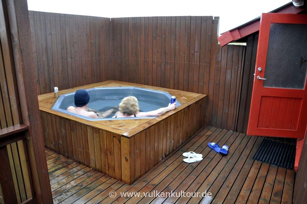 Hütte mit Hot Pot in Sandgerði