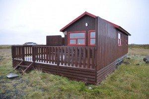 Unsere Hütte in Sandgerði