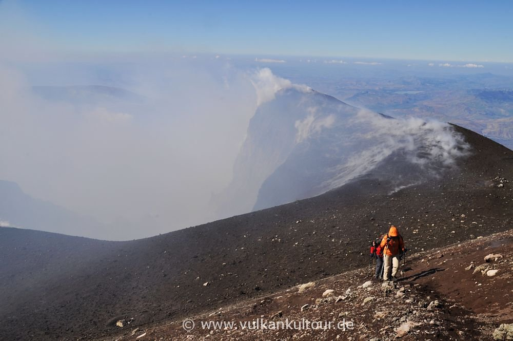 Ätna - Aufstieg auf den Nordostkrater