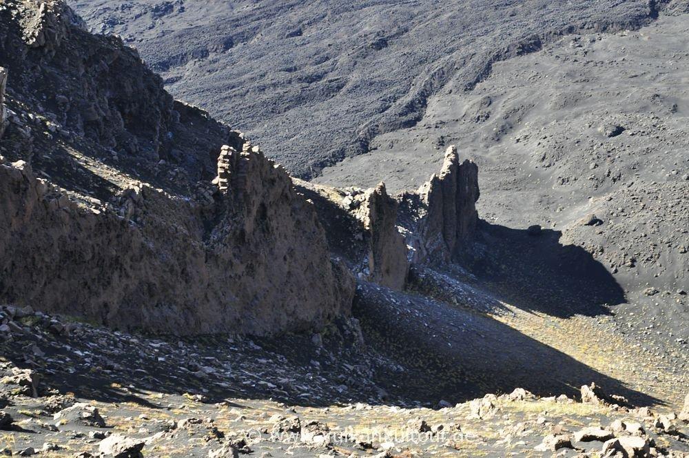Ätna - Dyke über dem Valle del Bove