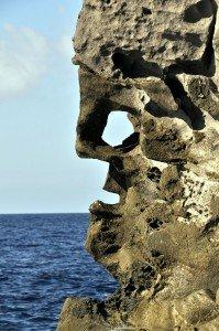 Strombolicchio - la faccia di Eolo - das Gesicht Äolus