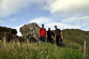 Gutes Wanderteam - Luis, Ulli, Florian