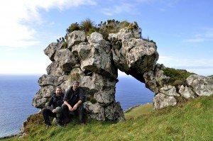 Corvo Westküste mit Ulli und Florian