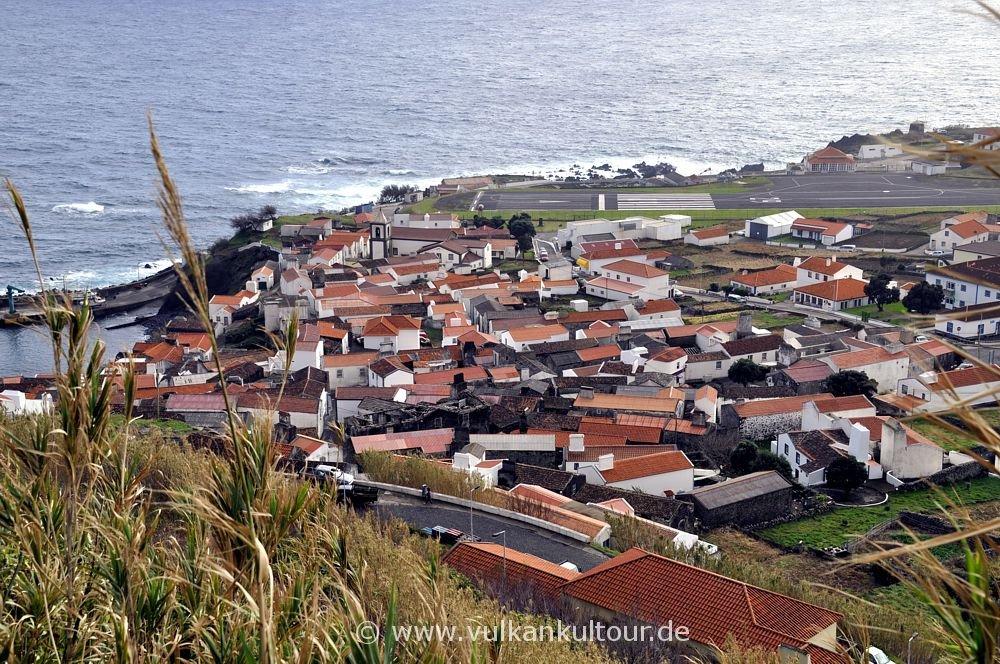 Vila do Corvo, mit 420 Einwohnern eine der kleinsten Städte Europas