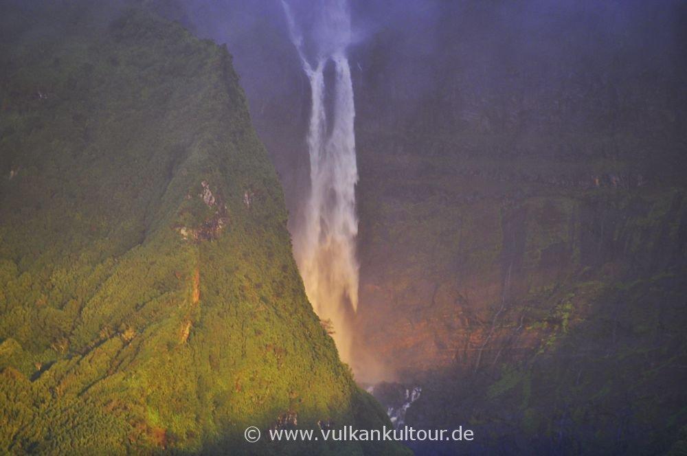 Wasserfall auf Flores