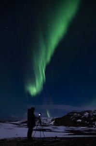 Aurora Borealis - Nordlichter über Island