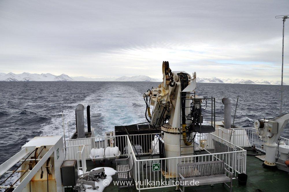 Überfahrt nach Grímsey