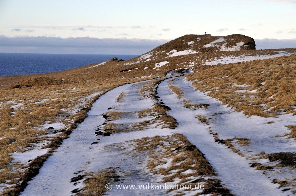 Wanderung auf Grímsey