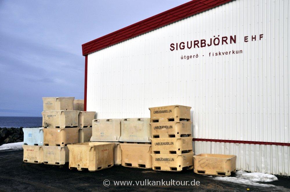 Fischfabrik auf Grímsey