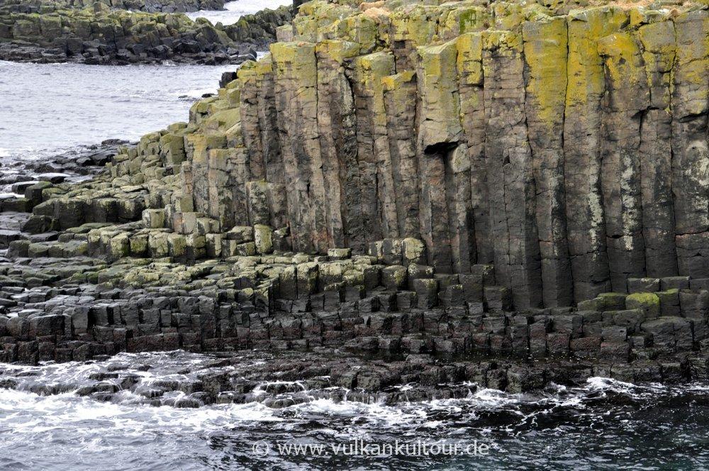 Basaltsäulen auf Grímsey