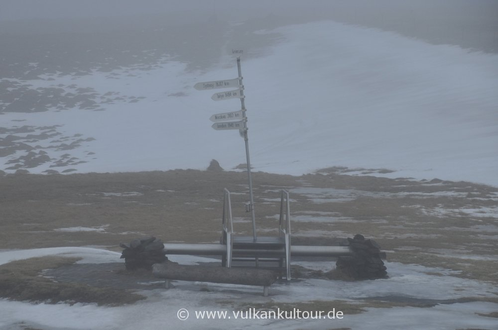 Polarkreis im Nebel